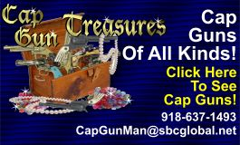 Classic Cap Guns and Toys